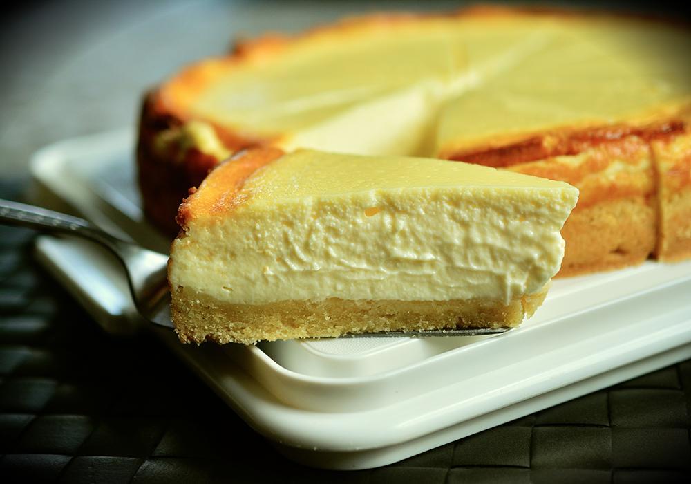 Cheesecake salata agli asparagi bianchi