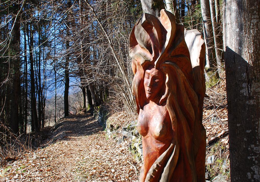 Via da le Vide – Itinerario artistico nel bosco