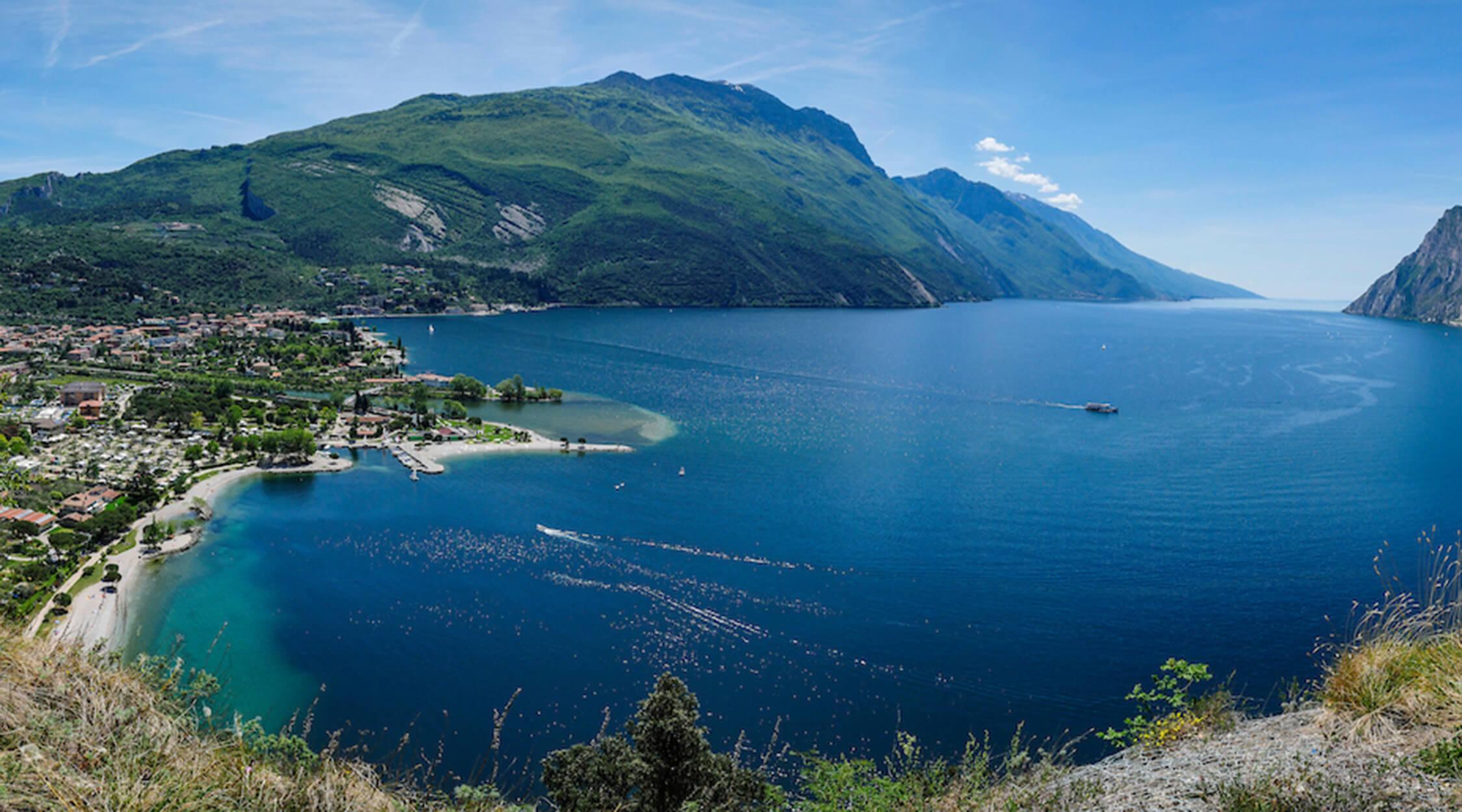 Percorso I Forti del Monte Brione - Riva del Garda myTrentina 001