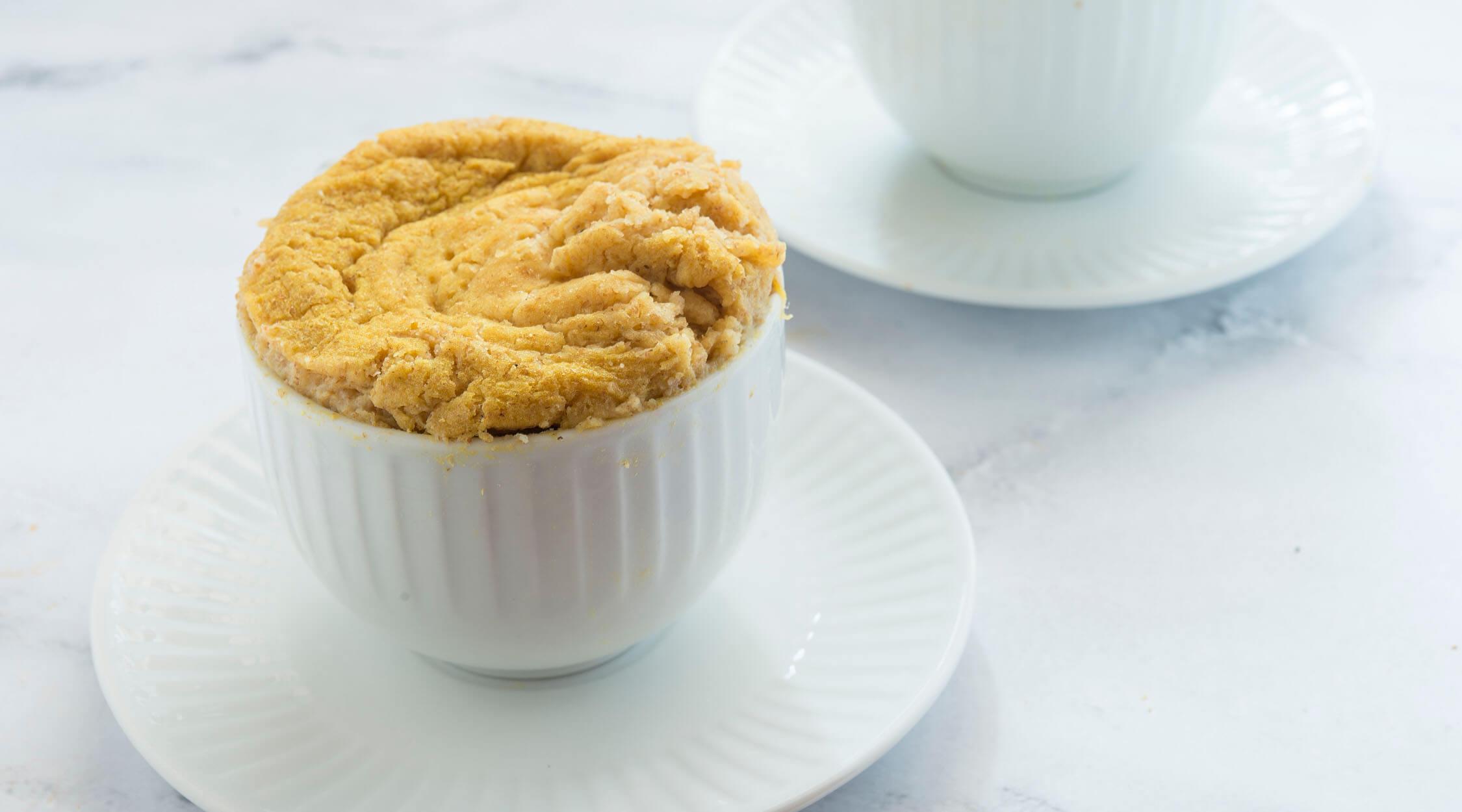 mytrentina ricette golden mug cake