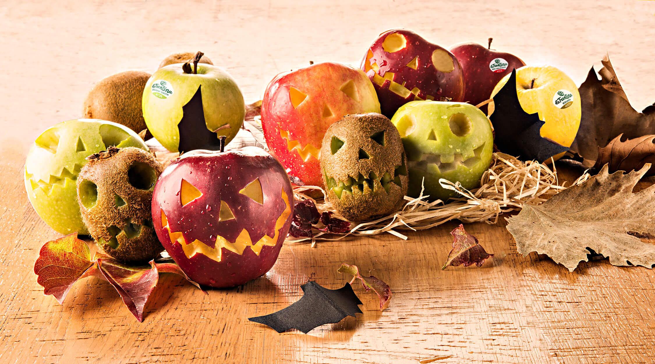 mytrentina halloween ricetta mele paurose