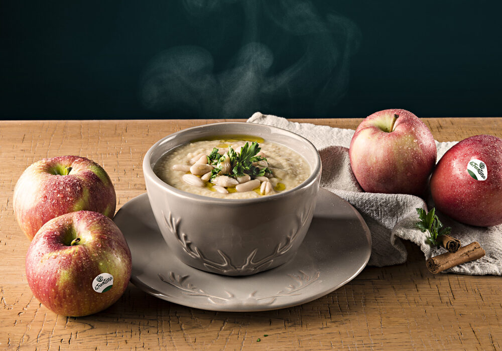 Zuppa di mele e fagioli